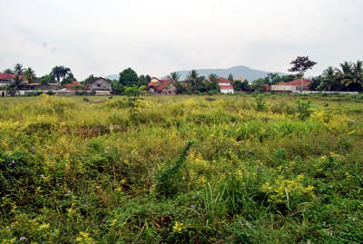 Lokasi Pembangunan Taman dan Sport center