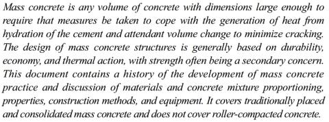 beton masa definisi